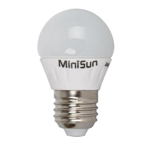 buy minisun e27 4w led golfball bulb 2700k warm white from