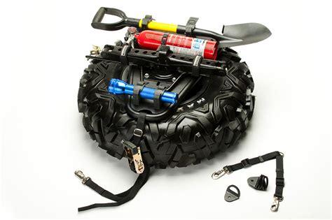 quickshot universal spare tire  accessory mount  proarmor utv guide