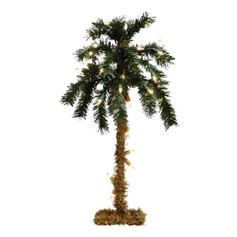 tabletop lighted palm tree christmas tree shops andthat