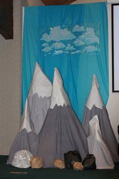 Ideas For Everest Vbs by Scrunched Paper Makes An Berg For Polar