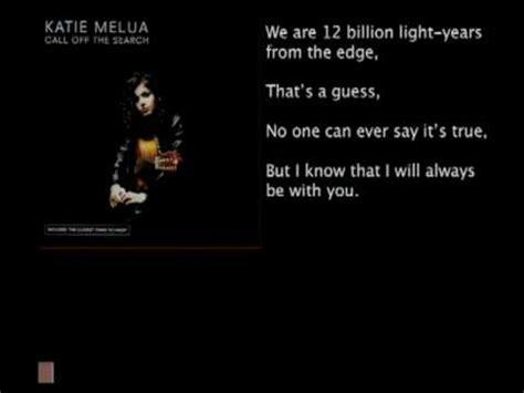 Katie Melua  Nine Million Bicycles (katies's Bad Science