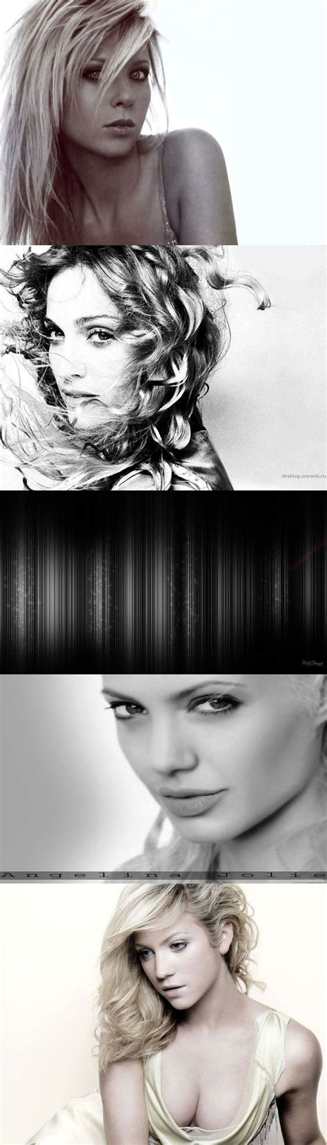 Britanny Snow Black And White Black And White Background