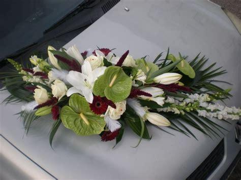 d 233 coration de voiture pour un mariage 224 lyon fleuriste composition florale 224 neuville sur