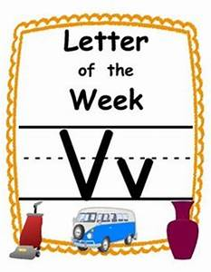 1000 images about letter vv on pinterest letter of the With letter of the week preschool curriculum