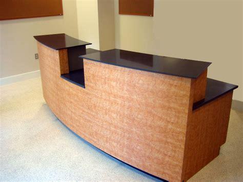 custom reception desk furnishings bluelabelcustoms