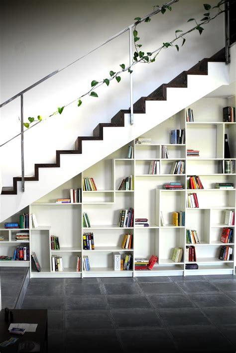 Etagere En Escalier by Quot Sgantina Quot Under Stairs Billy Bookshelves Ikea Hackers