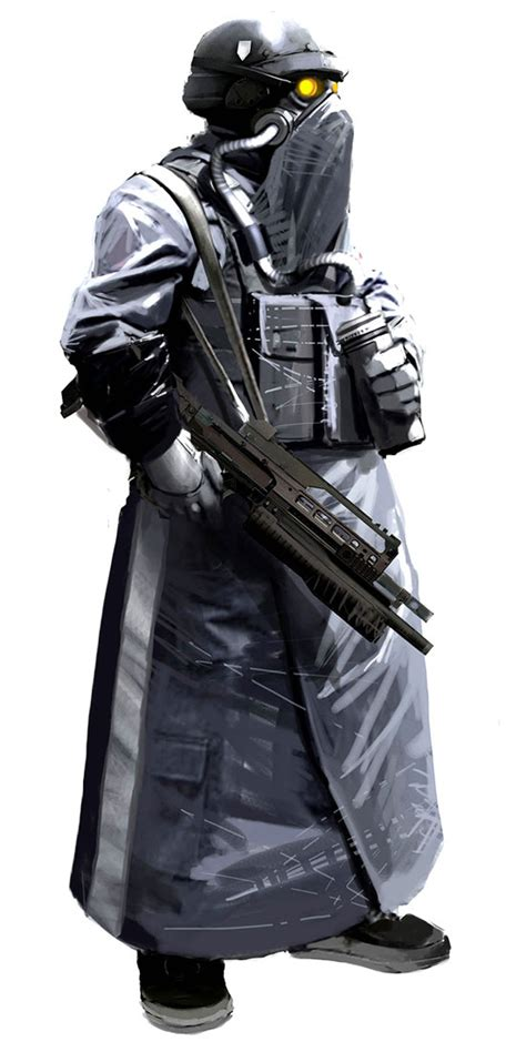 Helghast Concept Characters And Art Killzone 2
