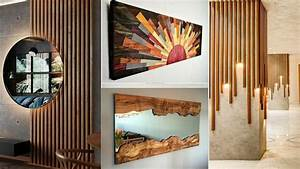 150, Wooden, Wall, Decorating, Ideas, For, Modern, Home, Interior