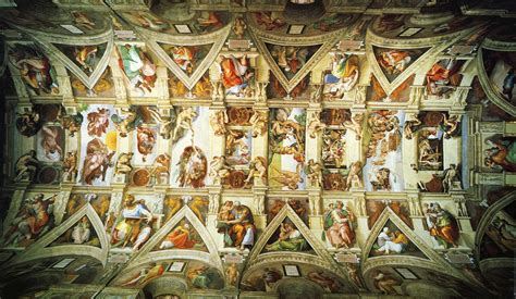 Painted The Ceiling Of The Sistine Chapel In Rome by Sistine Chapel Conversationallyspeaking
