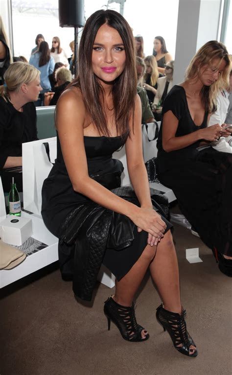 jodi anasta  mbfwa day  celebrities