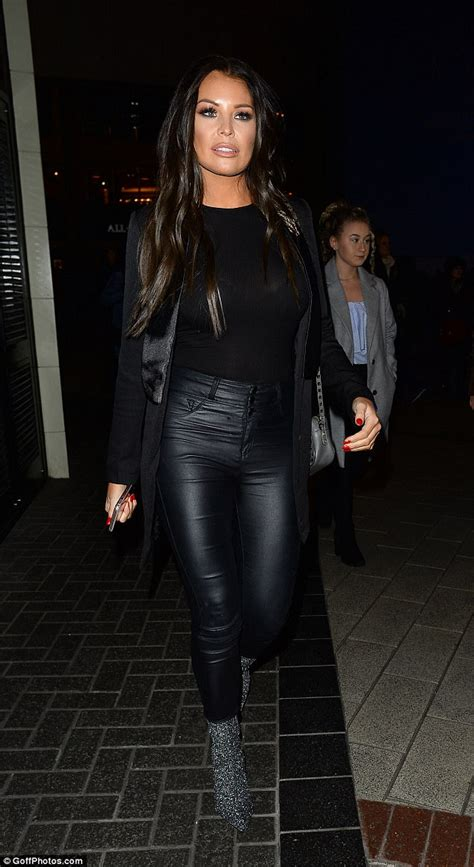 Rebekah Vardy Leather
