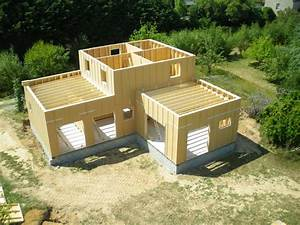 agence becokit la rochelle construction maison ossature With maison en bois autoconstruction