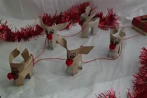 Renne En Carton : diy des rennes en carton et leur traineau de no l blog z dio ~ Melissatoandfro.com Idées de Décoration