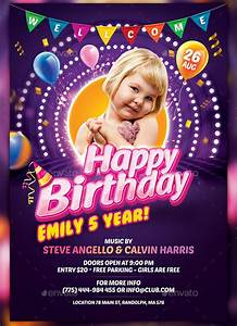 How To Setup A Template In Word Free 30 Spectacular Birthday Flyer Templates In Eps Psd