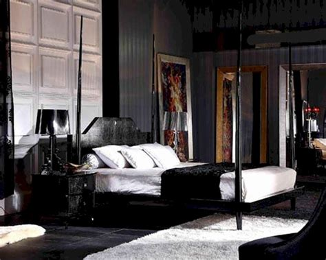 black crocodile lacquer  poster bed bbd