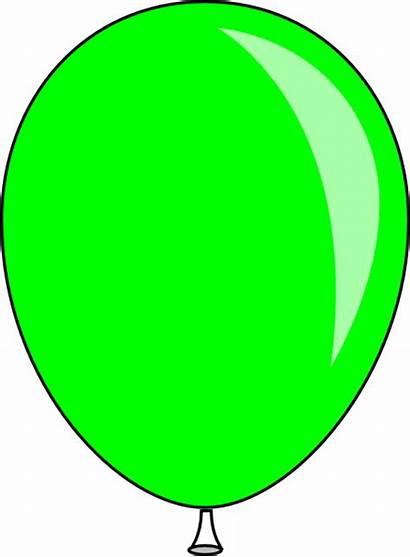 Balloon Baloon Clip Clker Clipart Vector Chuck