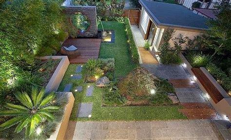 desain taman minimalis lahan sempit depan belakang