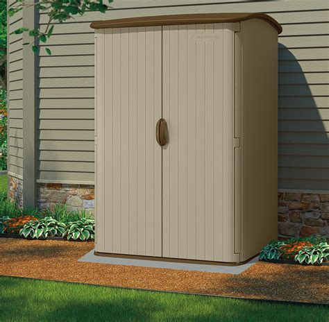 plastic outdoor storage sheds suncast 5x4 conniston three plastic garden shed