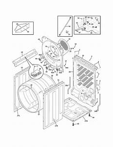 Frigidaire Model Fase7073na2 Residential Dryer Genuine Parts