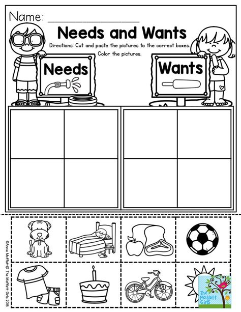 needs and wants parents will you for this one 821 | 08637e0243f682a020e8d4d597ae1637 scarcity activities social studies preschool social studies activities