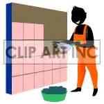 royalty free animated laying tile 122630 animation