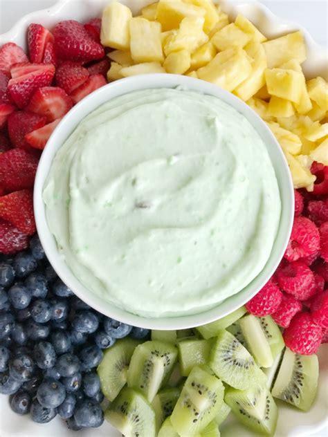 yogurt fruit dip pistachio yogurt fruit dip together as family