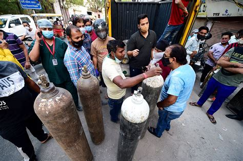 Delhi hospitals grapple with limited oxygen supply ...
