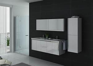 Grand Meuble Salle De Bain : meuble de salle de bain blanc meuble de salle de bain de bon rapport qualit prix ~ Teatrodelosmanantiales.com Idées de Décoration