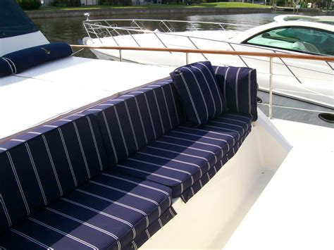Custom Made Boat Cushions by Boat Cushions From The Canvas Yard Inc In Dunedin Fl