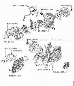 Nx 6103  Stihl 009 Chainsaw Parts Diagram Stihl Chainsaw