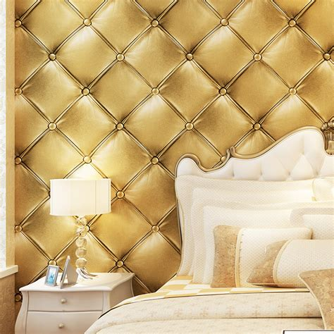 paysota luxury faux leather  wallpaper  wall living