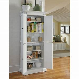 Home Styles Americana White Pantry - Pantry Cabinets at ...