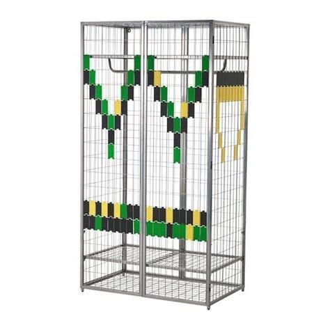 Metall Garderobe Ikea ikea ps grey cage metal wardrobe in gumtree