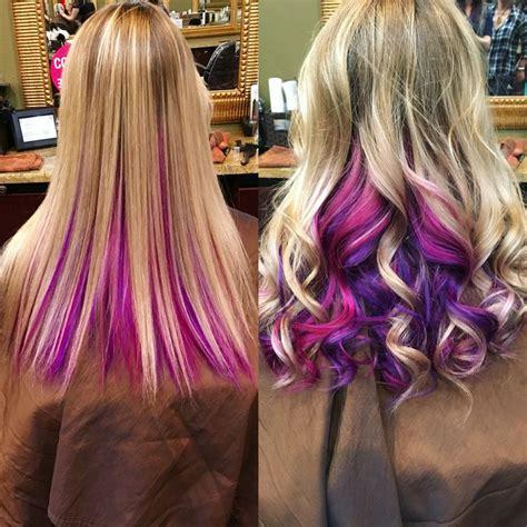 Top Best Pink Hair Highlights Ideas On Pinterest
