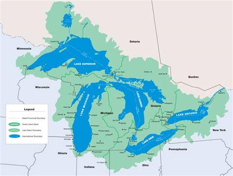 dynamic great lakes the great lakes basin