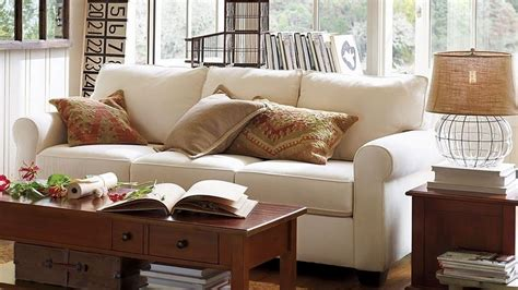 pottery barn living room sofas   vintage touch youtube