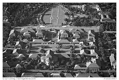 black  white picturephoto aerial view  campus