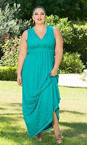 robe extra longue grande taille dentelle bleue sans manche With robe extra longue