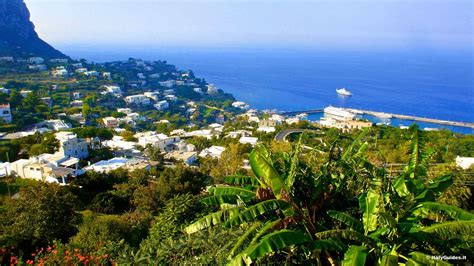 Italyguidesit Pictures Of Capri Photo Gallery And