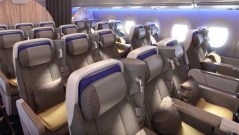 siege boeing 777 exclusivité les nouvelles cabines à bord des boeing 777