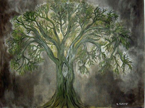 Lebensbaum - Bild / Kunst von Susanne Schings bei KunstNet