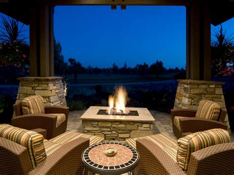 covered pit outdoor fireplaces and pits that light up the diy