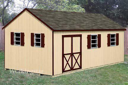 12x20 gable backyard storage shed plans free sles