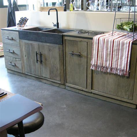 meuble cuisine independant bois le bois chez vous