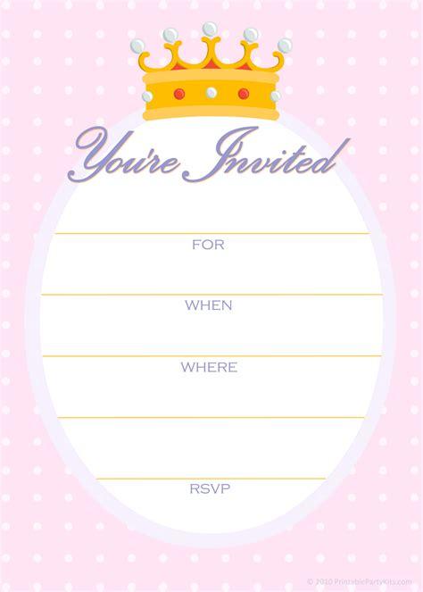 printable party invitations  invitations