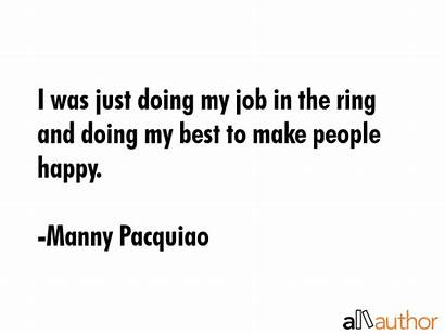 Job Doing Quotes Ring Quote Happy Pacquiao