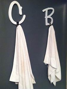 pin by kristin renkert on project 14 bathroom redo With wooden alphabet letters michaels