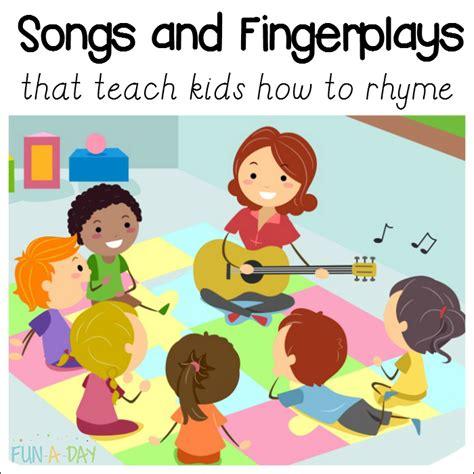10+ Of The Best Rhyming Songs For Preschool Funaday