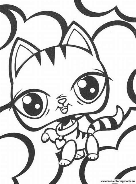 coloring pages littlest pet shop page  printable