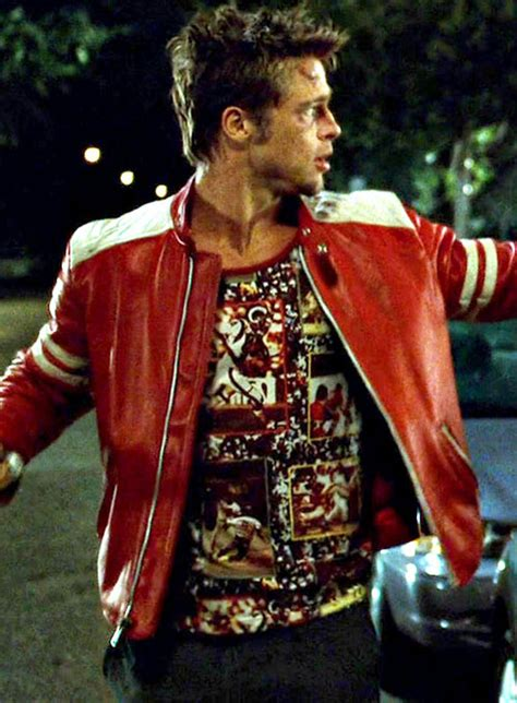 fight club leather jacket makeyourownjeans